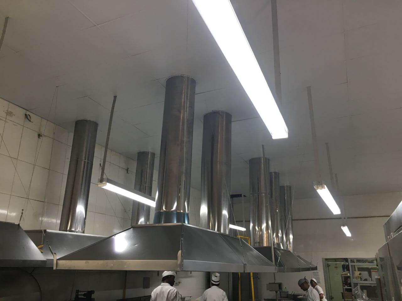 Trabalhos Realizados Forro Modular De Pvc Para Uma Cozinha